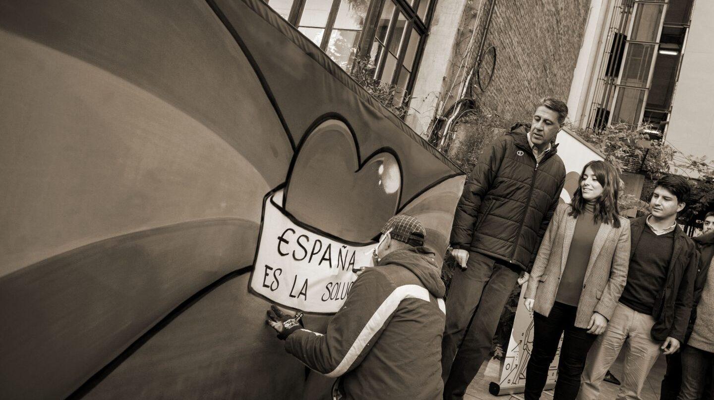 Albiol, en un acto del PP catalán.