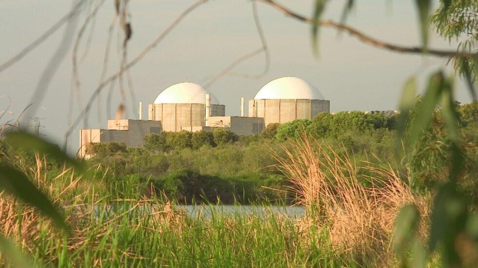 La central nuclear de Almaraz.