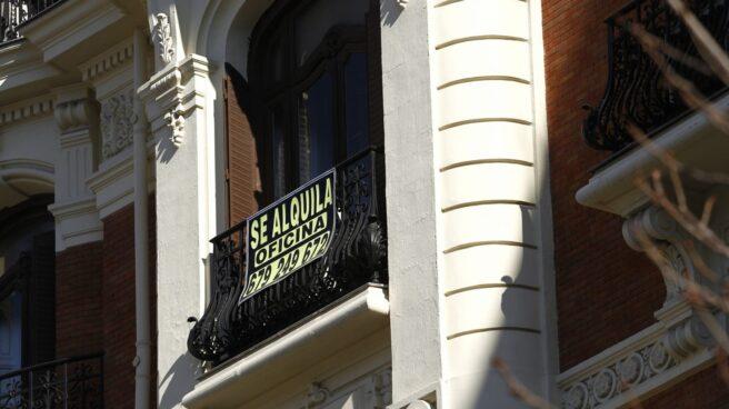 Se desploma el alquiler de oficinas en Barcelona.