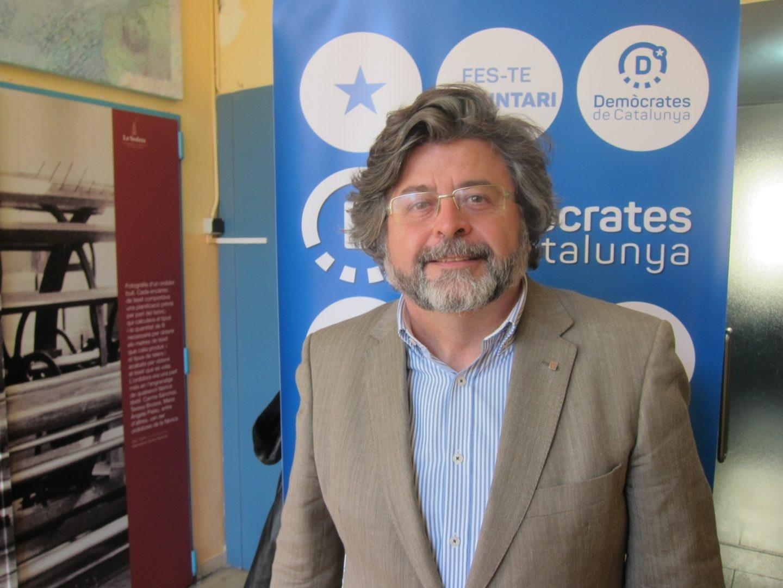 El portavoz de demòcrates y número seis de ERC por Barcelona Antoni Castellà.