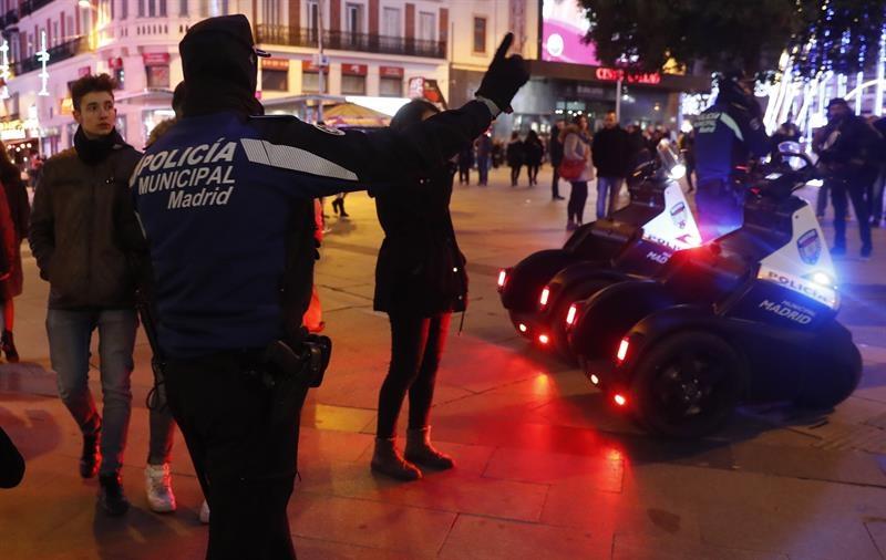 Regulación de sentido únicos en las calles Preciados y Carmen de Madrid