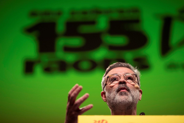 El candidato de la CUP en las elecciones del 21-D, Carles Riera.