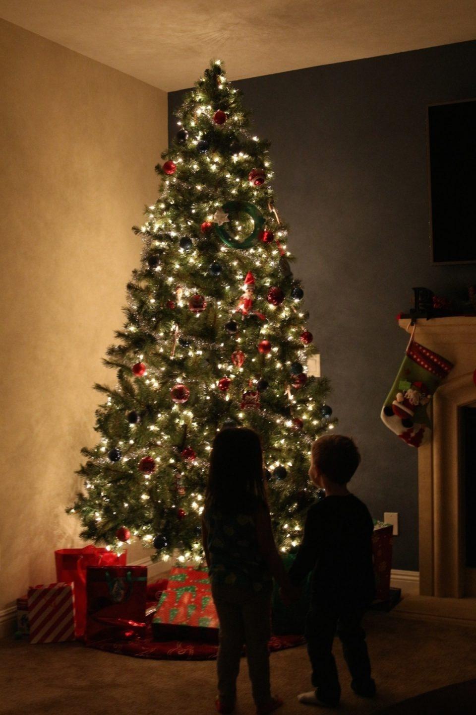 Los niños de hasta dos años tienen suficiente con uno o dos regalos.