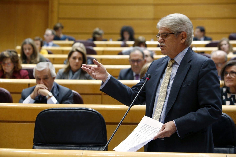 El ministro Dastis, en el Senado.
