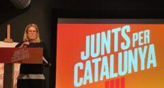Elsa Artadi, de JxCat, tras conocer los resultados de las elecciones del 21-D.