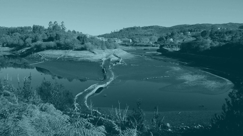 Estado en el que se encuentra el embalse de Eiras que abastece principalmente a Vigo y a los ayuntamientos de su área metropolitana.
