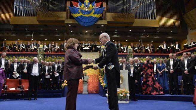 Una ceremonia de la entrega de los Premios Nobel.