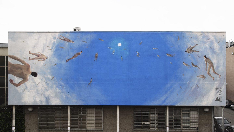 Intervención de Enric Sant en Facultad de Bellas Artes de la Universidad de Barcelona,