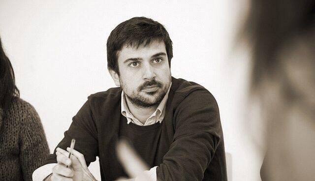 Ramón Espinar, secretario general de Podemos Madrid.