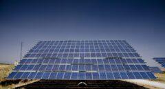 Planta de energía fotovoltaica.