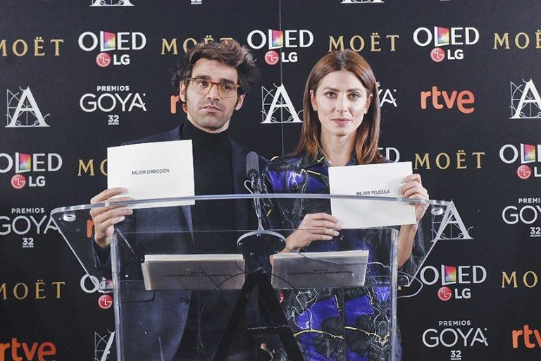 Lectura de los nominados a los Goya 2018