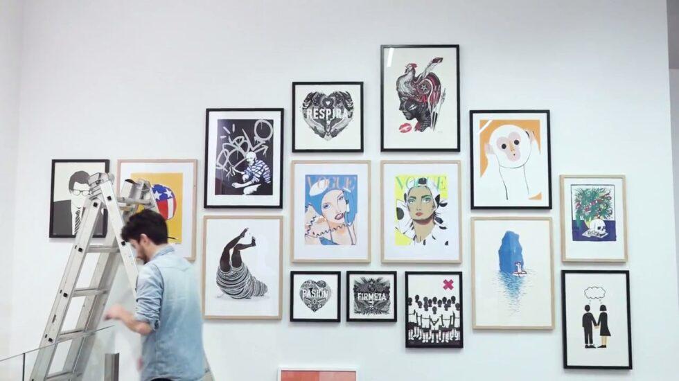 Exposición de Gunter Gallery en Madrid