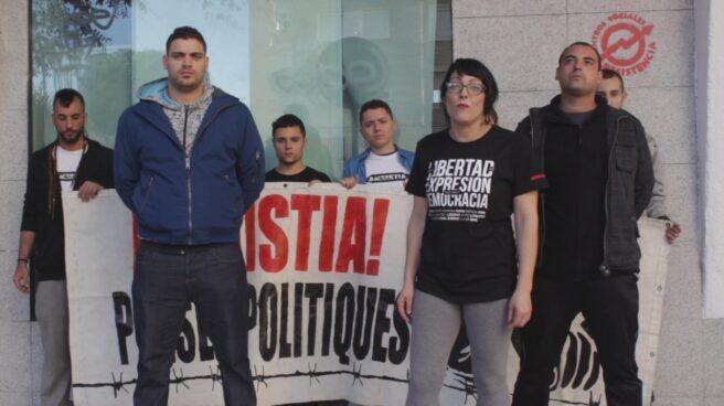 El grupo de rap La Insurgencia cuyos miembros han sido condenados a dos años por las letras de sus canciones.