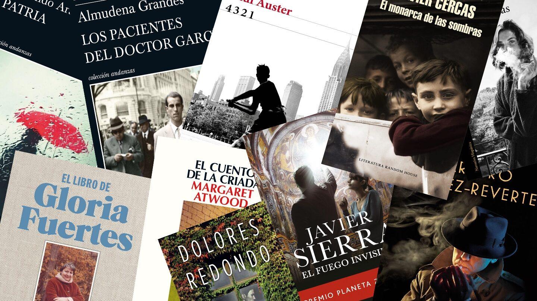Los libros más destacados de 2017.