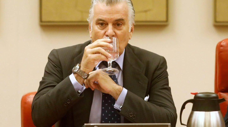 Luis Bárcenas, en el Congreso de los Diputados.