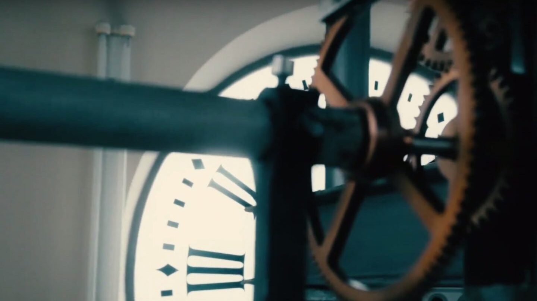 Maquinaria del reloj de la Puerta del Sol