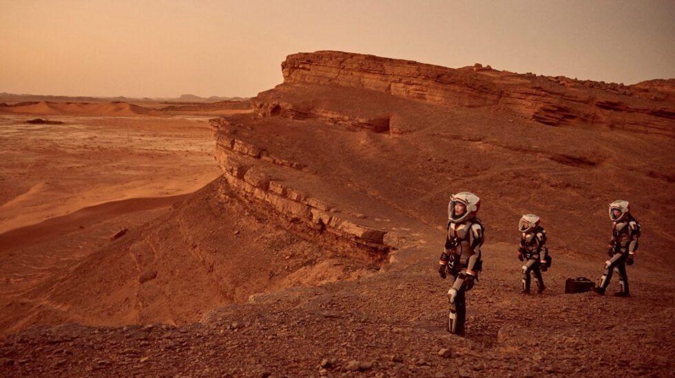Fotograma de la serie 'Mars'
