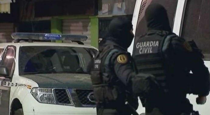 Una operación de la Guardia CIvil en Melilla.