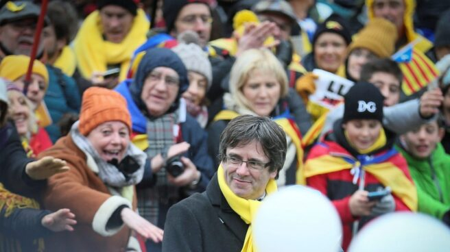Carles Puigdemont, la pasada semana en Bruselas.