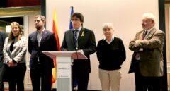 Carles Puigdemont y los ex consellers en Bélgica.