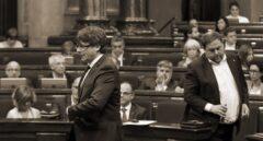 Carles Puigdemont y Oriol Junqueras, sólo puede quedar uno.
