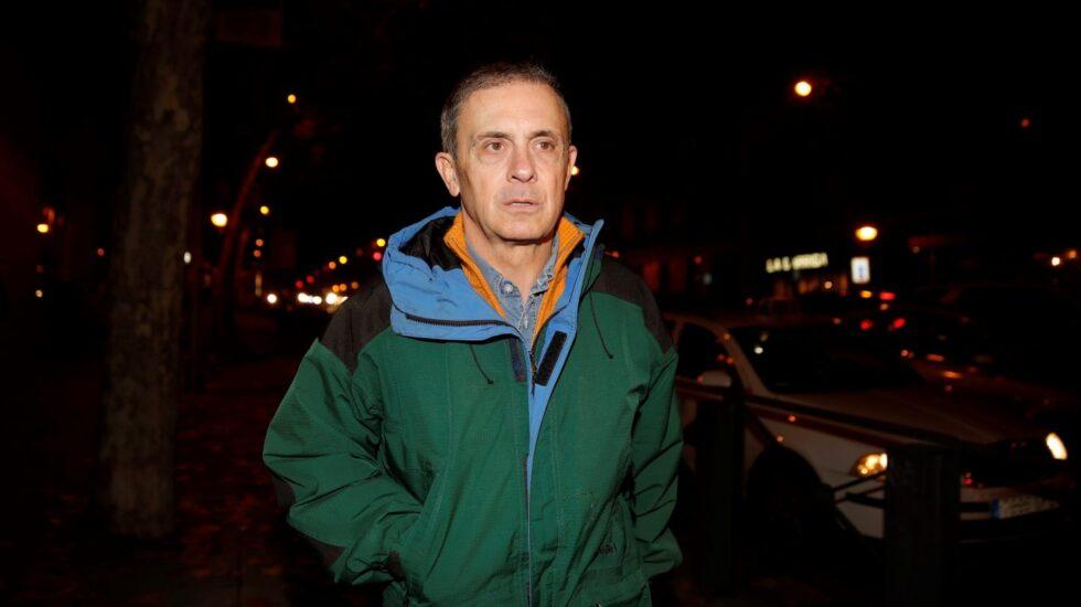 Jordi Pujol Ferrusola, a la salida de prisión.