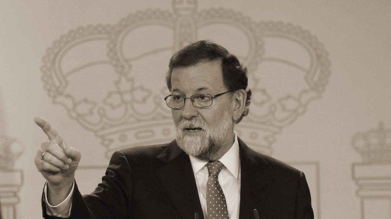 Mariano Rajoy durante su análisis de los resultados de las elecciones catalanas del 21-D.