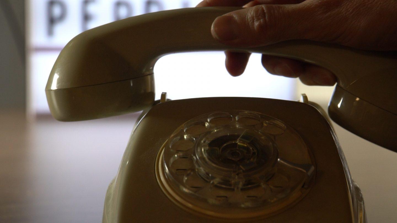 Teléfono fijo tipo Heraldo