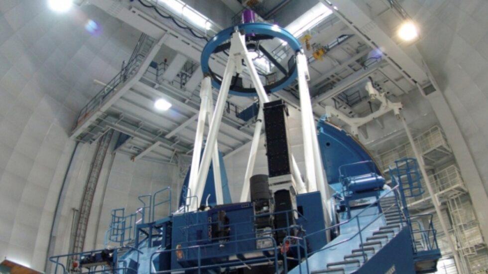 El Instrumento CARMENES instalado en el Telescopio Calar Alto