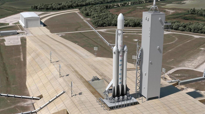 Plataforma de lanzamiento.