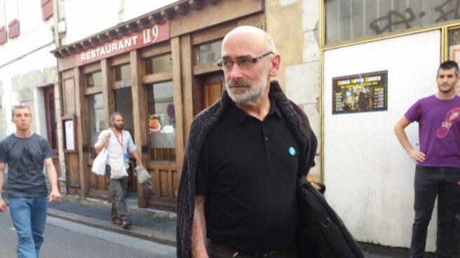 El mediador y miembro del grupo de 'artesanos de la paz' designado por ETA, Michel Berhokoirigoin.