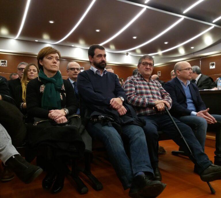 Los acusados del mayor caso de corrupción vasco, dispuestos a reconocer los hechos