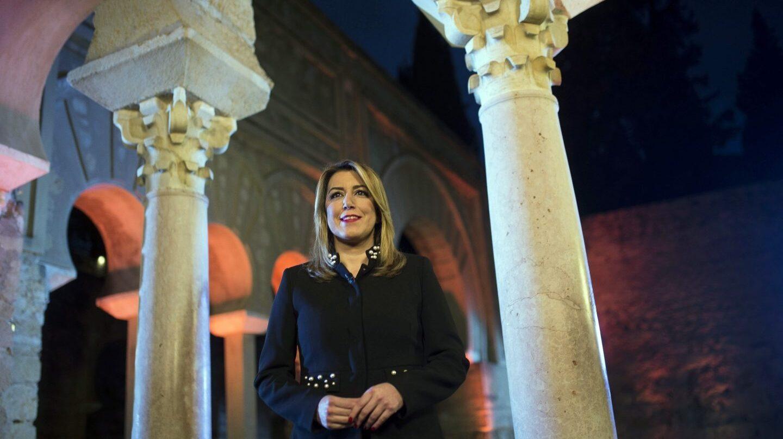 Susana Díaz en su mensaje institucional de fin de año