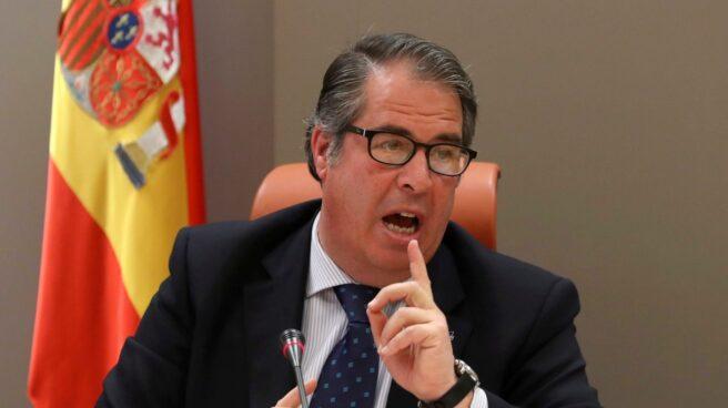 El director general de la DGT, Gregorio Serrano,el pasado día 3