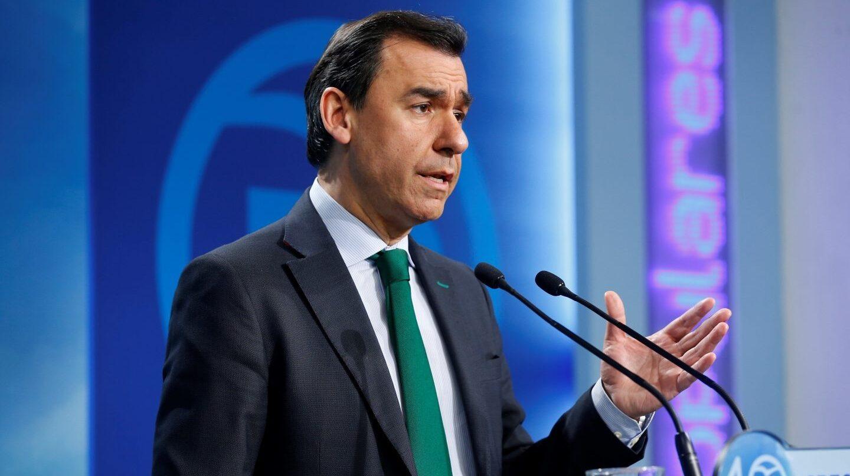 El coordinador general del PP, Antonio Martínez Maillo, este lunes en Génova.