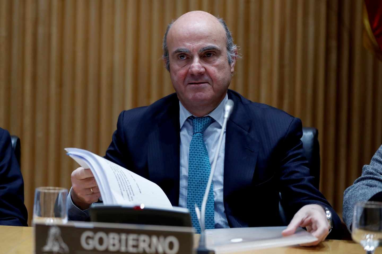 El ministro de Economía y Competitividad Luis de Guindos.