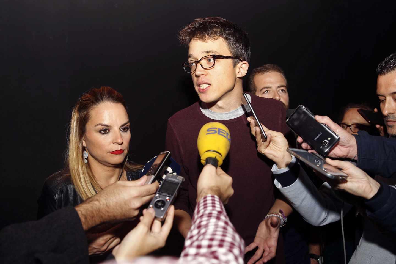 Iñigo Errejón, candidato de Podemos en la Comunidad de Madrid.