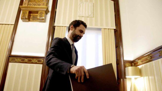 El presidente del Parlament, Roger Torrent, ha pedido una entrevista a Rajoy