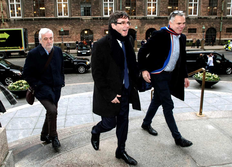 Carles Puigdemont, en Copenhague.