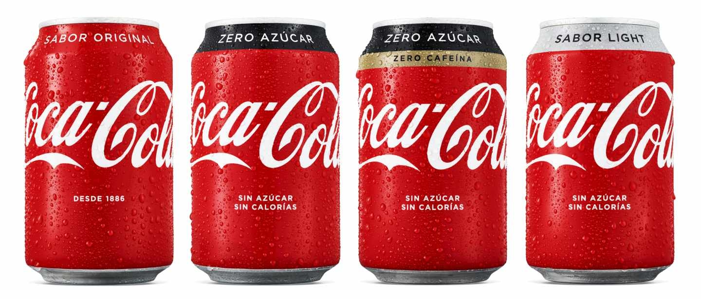 Coca-Cola cambia su imagen de marca y se vuelve 'más roja'.