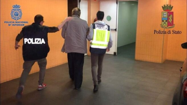Agentes italianos y españoles han detenido en Alicante a Fausto Pellegrinetti, capo mafioso huido desde hace 25 años.