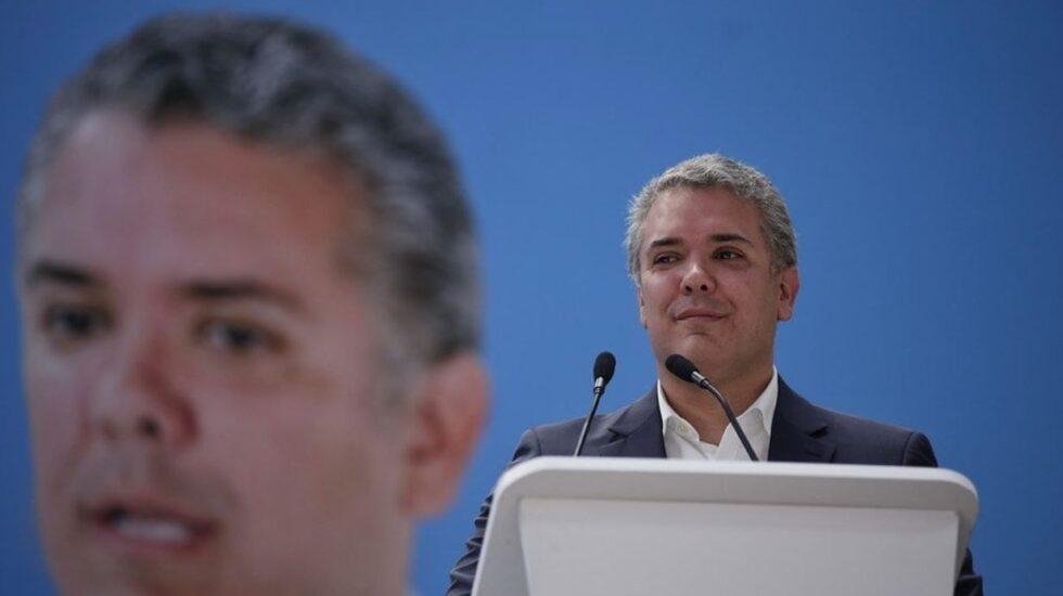 Iván Duque, senador y aspirante por Centro Democrático a la Presidencia de Colombia.