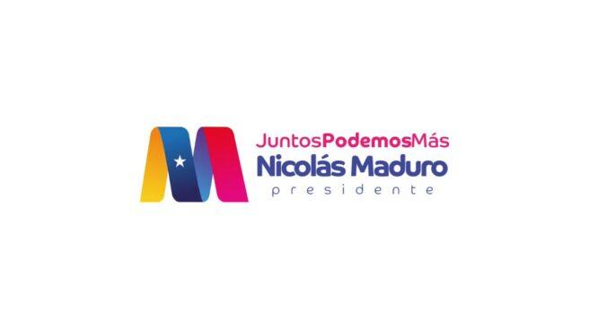 Juntos Podemos Más: el nuevo logo con el que concurrirá Nicolás Maduro a las elecciones presidenciales de 2018 en Venezuela.