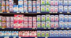 Productos de Lactalis en un supermercado de Niza (Francia).