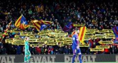 """Tsunami Democràtic llama a la protesta para el Barcelona-Real Madrid: """"Lo jugaremos todos"""""""