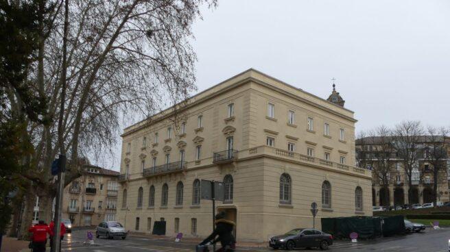 Sede del antiguo Banco de España de Vitoria que albergará el Centro Memorial de Víctimas del Terrorismo.
