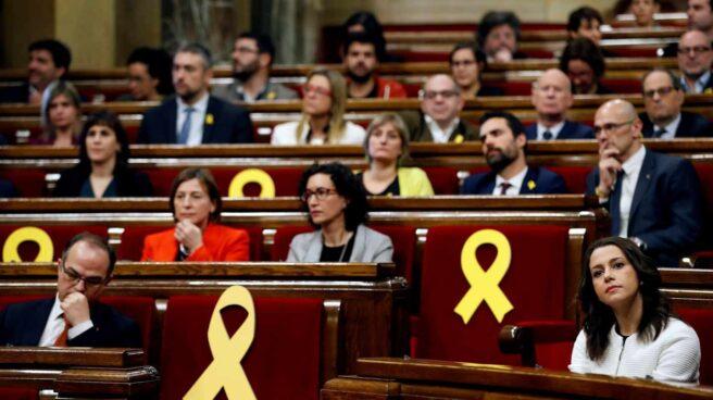 Sesión de constitución del Parlament.