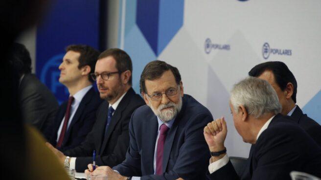 Mariano Rajoy, en la Junta Directiva del PP.