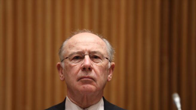 Rodrigo Rato comparece en la Comisión del Congreso.