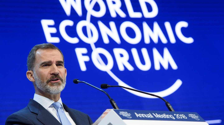 Discurso del Rey Felipe en el Foro de Davos.